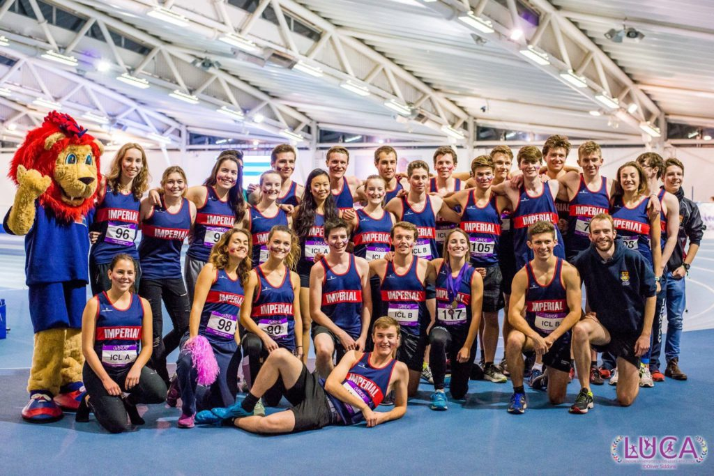 The Imperial team at LUCA indoors 2017