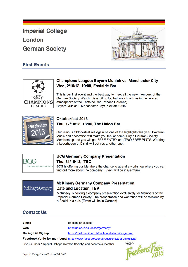 German Society Overview FF 2013