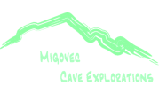 Imperial College Caving Club Migovec Cave exploration logo