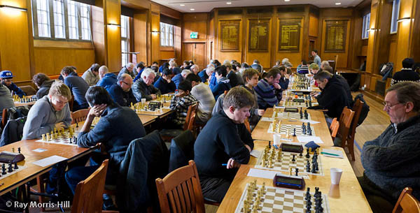 Ray Morris Hill's Photo of the Imperial College Chess Congress