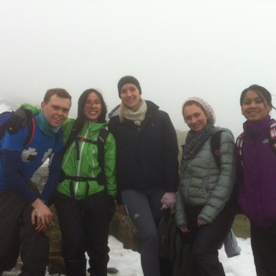 Fresher Trip, Lake District – 2014