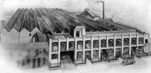 White and Poppe's Coventry Factory