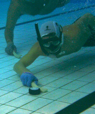 Octopush icuc for Imperial college london swimming pool